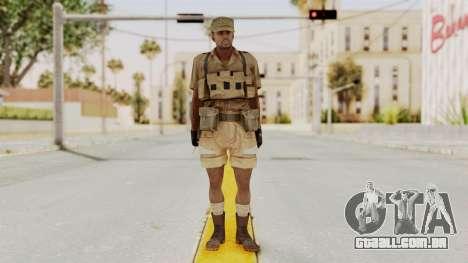 MGSV Phantom Pain CFA Combat Vest 1 v1 para GTA San Andreas segunda tela