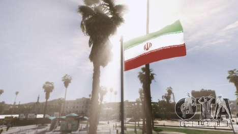 GTA 5 Iranian Flag quarto screenshot