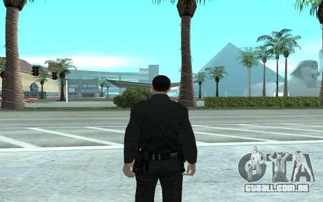 Los Santos Police Officer para GTA San Andreas segunda tela
