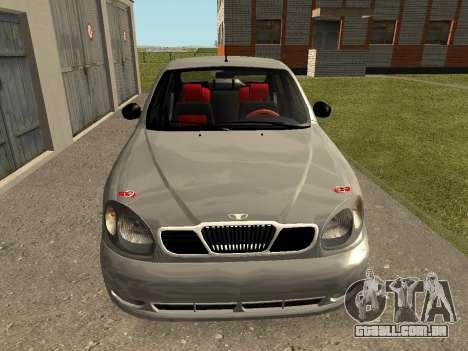 Daewoo Lanos (Sens) 2004 v1.0 by Greedy para GTA San Andreas vista direita