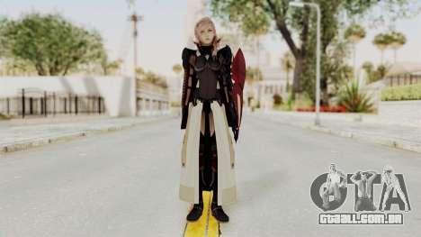 LRFFXIII Lightning Equilibrium Garb v1 para GTA San Andreas segunda tela