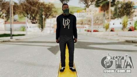 GTA 5 Franklin v1 para GTA San Andreas segunda tela