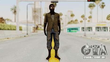 Far Cry 3 - Dennis Rogers para GTA San Andreas segunda tela