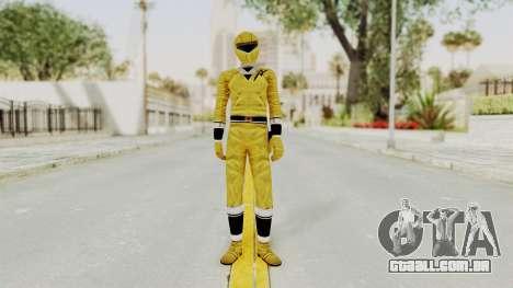 Alien Rangers - Yellow para GTA San Andreas segunda tela
