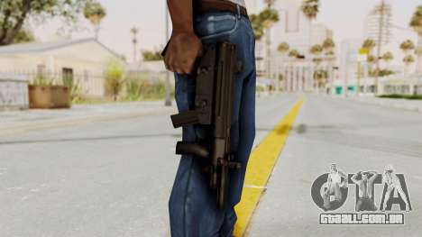 Liberty City Stories SMG para GTA San Andreas terceira tela