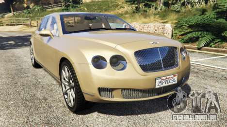 Bentley Continental Flying Spur 2010 para GTA 5