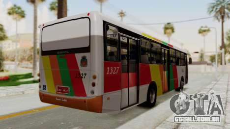 Comil Svelto Estrada Trans Líder para GTA San Andreas vista direita