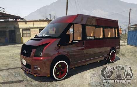 Ford Transit 1.1 [Replace] para GTA 5