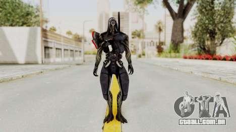 Mass Effect 2 Legion para GTA San Andreas segunda tela