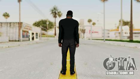 GTA 5 Franklin v1 para GTA San Andreas terceira tela