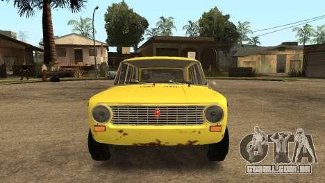 VAZ 2102 BK para GTA San Andreas vista direita