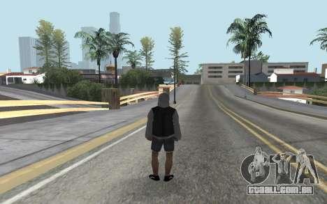 Novo bum para GTA San Andreas segunda tela