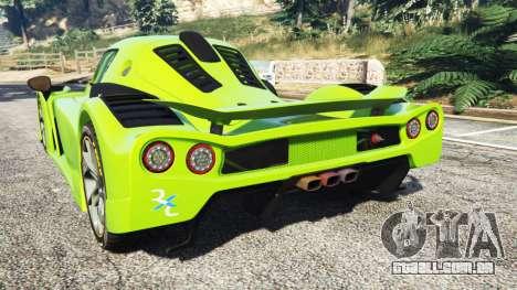GTA 5 Radical RXC Turbo traseira vista lateral esquerda