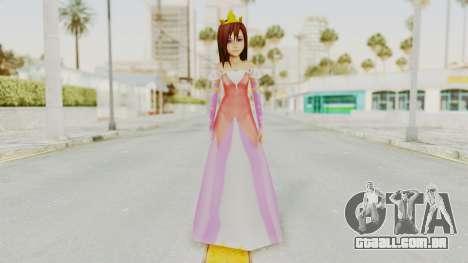 7th Princess Kairi para GTA San Andreas segunda tela