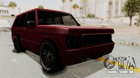 Huntley para GTA San Andreas