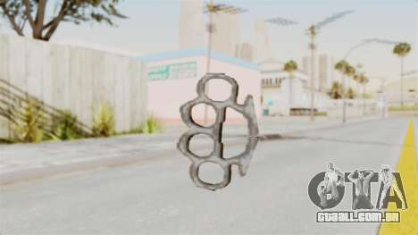 Metal Slug Weapon 5 para GTA San Andreas segunda tela