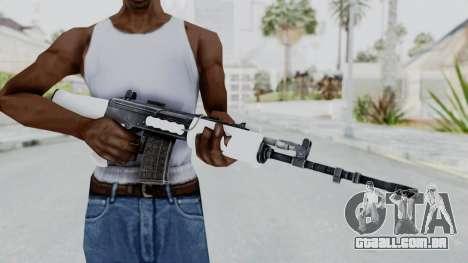 IOFB INSAS White para GTA San Andreas terceira tela