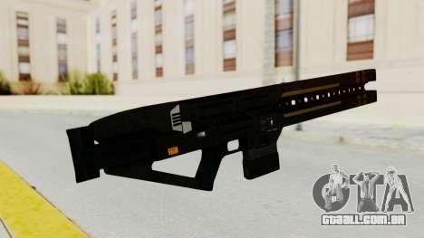 Railgun para GTA San Andreas segunda tela