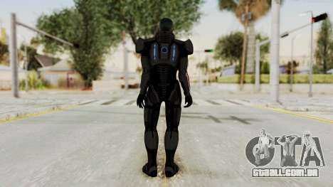 Mass Effect 2 Shepard Default N7 Armor No Helmet para GTA San Andreas terceira tela