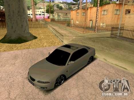 Mazda Xedos 6 para GTA San Andreas traseira esquerda vista