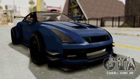 GTA 5 Annis Elegy Twinturbo Spec para GTA San Andreas vista direita
