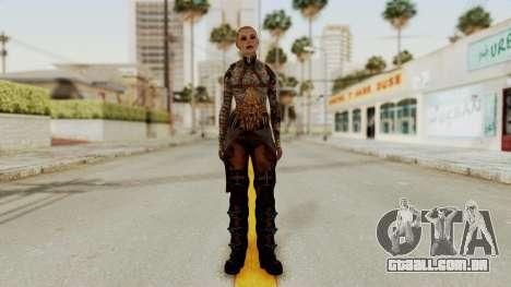 Mass Effect 2 Jack para GTA San Andreas segunda tela