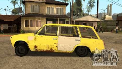 VAZ 2102 BK para GTA San Andreas esquerda vista