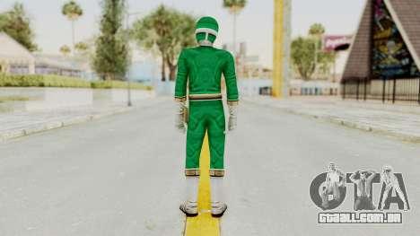 Power Rangers Lightspeed Rescue - Green para GTA San Andreas terceira tela