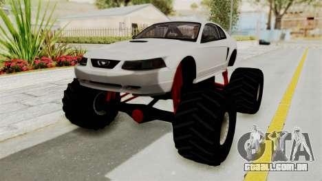 Ford Mustang 1999 Monster Truck para GTA San Andreas