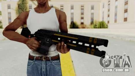 Railgun para GTA San Andreas terceira tela