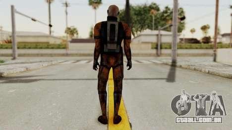 Mass Effect 2 Batarian para GTA San Andreas terceira tela