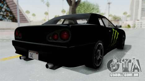 Monster Elegy para GTA San Andreas vista direita