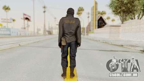 MGSV Phantom Pain Zero Risk Sniper para GTA San Andreas terceira tela