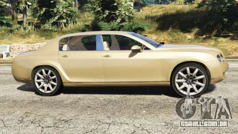 GTA 5 Bentley Continental Flying Spur 2010 vista lateral esquerda