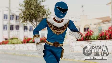 Power Ranger Zeo - Blue para GTA San Andreas