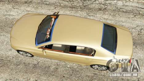 GTA 5 Bentley Continental Flying Spur 2010 voltar vista