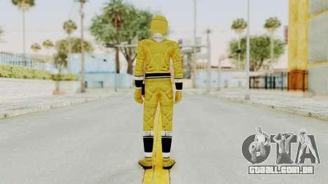 Alien Rangers - Yellow para GTA San Andreas terceira tela