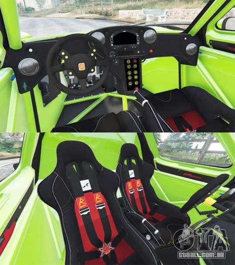 GTA 5 Radical RXC Turbo traseira direita vista lateral