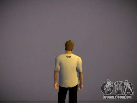 How are you T-Shirt para GTA San Andreas segunda tela