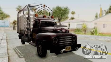 Ford 49 Con Estacas para GTA San Andreas vista direita