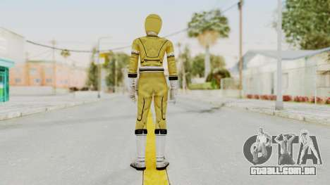 Power Rangers Turbo - Yellow para GTA San Andreas terceira tela