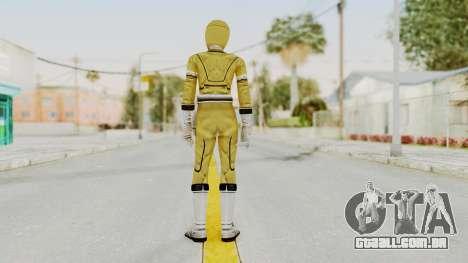 Power Rangers Turbo - Yellow para GTA San Andreas terceira tela