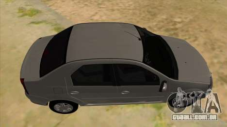 Dacia Logan para GTA San Andreas vista interior