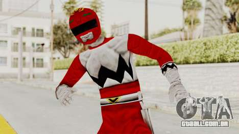 Power Rangers Lost Galaxy - Red para GTA San Andreas