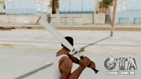 Metal Slug Weapon 3 para GTA San Andreas terceira tela