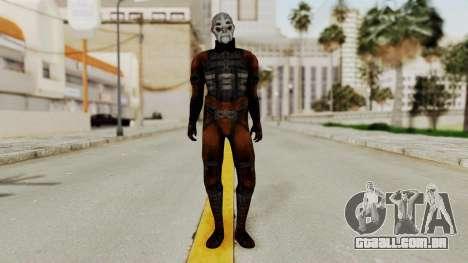 Mass Effect 2 Batarian para GTA San Andreas segunda tela