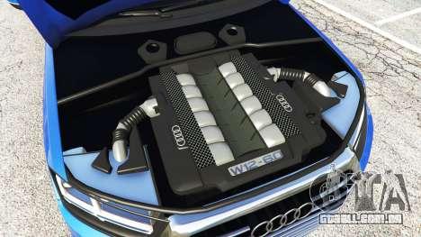 GTA 5 Audi Q7 2015 [rims1] frente vista lateral direita