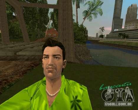 Weed T-Shirt para GTA Vice City segunda tela