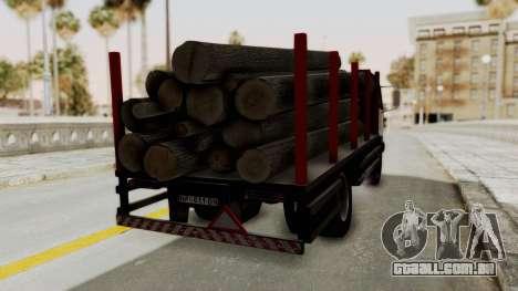 FAP Kamion za Prevoz Trupaca para GTA San Andreas esquerda vista