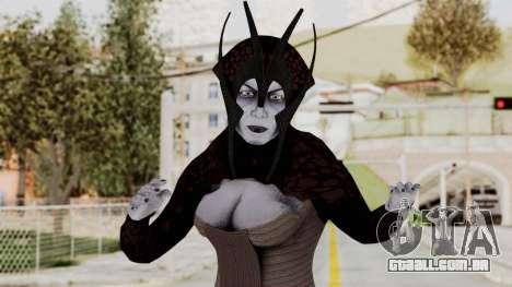 Mass Effect 1 Matriarch Benezia para GTA San Andreas